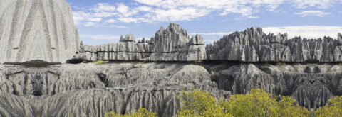 The protected area of Tsingy de Bemaraha